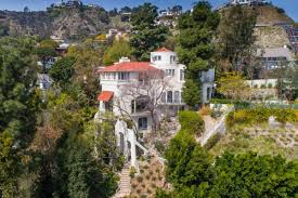 100 Hollywood Hills Houses Melodramatic Mansion In The By AF Leicht Asking 38