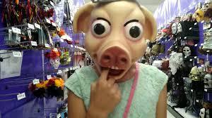 The Purge Mask Halloween Express by Killer Clown U0026 Pig Prank Youtube