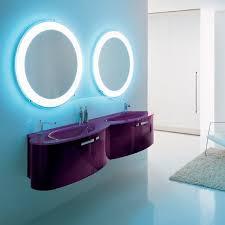 salle de bain mauve rénovation décoration salle de bain mauve