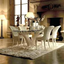 Luxury Dining Table Set Room Chairs
