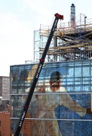 Harlem Hospital Glass Mural by Vertis Hayes
