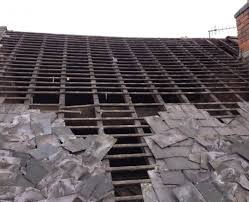 cost to replace tile roof underlayment concrete repair mexican