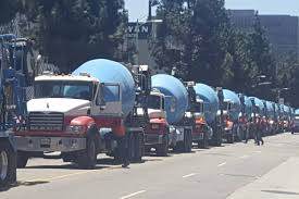 DTLA's Development Craze Summed Up In This Single Photo - Curbed LA Mitsubishi Fuso Fv415 Concrete Mixer Trucks For Sale Truck Concrete Truck Cement Delivery Mixer Trucks Rear Chute Video Review 2002 Peterbilt 357 Equipment Pinterest Build Your Own Com For Sale Bonanza 2014 Kenworth W900s At Tfk Youtube Fileargos Atlantajpg Wikimedia Commons Used 2013 T800 Tandem Inc Fiori Db X50 Cement 1995 Intertional Paystar 5000 Pump