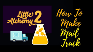 Little Alchemy 2-How To Make Mail Truck Cheats & Hints - YouTube