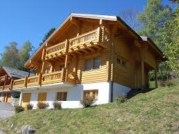 100 Log Cabins Switzerland Chalet Edelweiss Saclentse Bookingcom