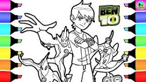 Ben 10 Coloring Pages I Kids Learn How To Color And Be Creative