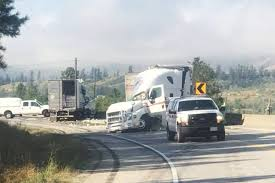 UPDATE: Trans Canada Open West Of Chase After Crash Sends Several To ... Fatal Crash On I29 At Barry Road Trucker Killed In Accident The Tesla Model S Firetruck California What We Know So Far Terrible Crash In Belgium And One Lucky To Be Alive Girl Semi Truck Crashes Accidents Youtube All Escape Unharmed After Fiery Crash On I696 At Woodward Driver In Was Cellphone Charges Allege Wcco 2 Semis Collide Inrstate 76 Fatigue Blamed Cbs Denver I95 North Yulee Reopens 8 Hours After Deadly Headon We Have No Idea How This Motorcyclist Survived Under A Watch Truck Driver Defy Physics To Avoid Autotraderca Wind Turbine Blade Slices Into Semitruck Crazy Autobahn