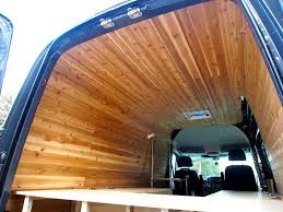 Introduction Cedar Paneling For Van Interior