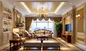 Neo Classic Living Room Design