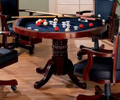 Dining Room Pool Table Combo by Furniture Pleasing Three One Cherry Poker Bumper Pool Dining