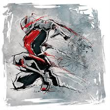 East Urban Home Marvel Comics The Ant Man Drawing Painting Print On Canvas Size