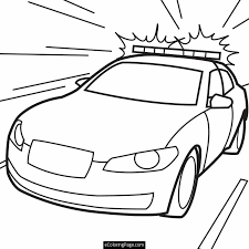 Superman And Supergirl Coloring Pages Police Cars