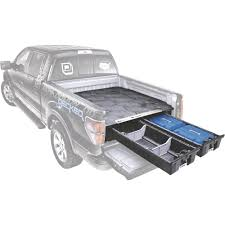 DECKED 2-Drawer Pickup Truck Bed Storage System — Fits Select Pickup ...