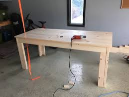 Building A Simple Wooden Desk by See How This Man Turned A Boring Table Into Something Awesome