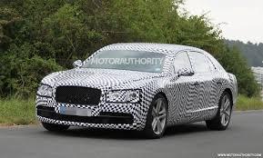 100 Bentley Truck 2014 Continental Flying Spur V8 Spy Shots