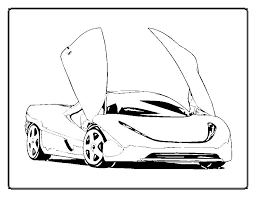 Cars Coloring Pages Coloringkidsorg