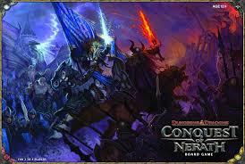 Dungeons Dragons Conquest Of Nerath Castle Ravenloft Board Game