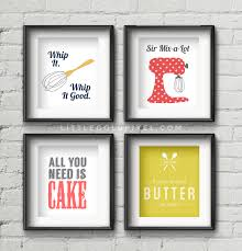 Kitchen Wall Art Free Printables Framed Quote