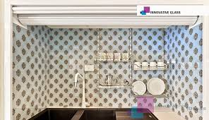 Logo Prince Pattern Splashback Printed Patterned Glass