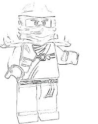 Ninjago Coloring Pages Kai Jay