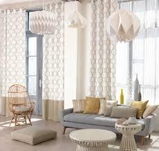 chambre nordique charmant decoration papier peint chambre 10 rideau