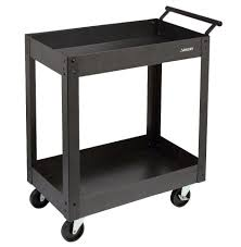 Sterilite 4 Shelf Cabinet Home Depot by Husky Steel Metal 2 Shelf Rolling Utility Service Tool Warehouse