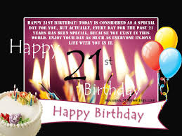 21st Birthday Wishes Messages and Greetings 365greetings