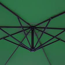 Walmart Patio Market Umbrellas by Best Choice Products Patio Umbrella Offset 10 U0027 Hanging Umbrella