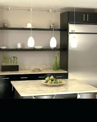 tech lighting wall monorail installation gallery kitchen track