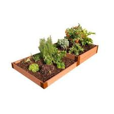 Greenland Gardener Raised Bed Garden Kit by Composite Raised Garden Beds Garden Center The Home Depot