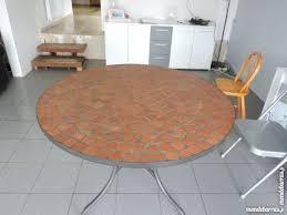 table ronde mosaique fer forge achetez table ronde mosaique occasion annonce vente à cesson 77