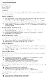 Landscaping Resume Sample Landscaper Samples