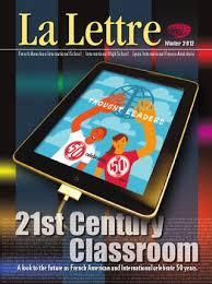 La Lettre Winter 2012 By French American International School