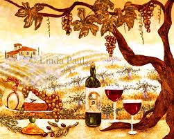 Wine And Grapes Kitchen Decor by France Example Mindmeister