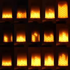 led burning light flicker light bulb effect bulb led