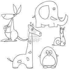 How To Draw Animal Doodles Dibujar Dibujos Para Niños