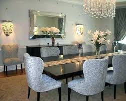 Glam Dining Room Glamorous Rooms A Ideas On Budget