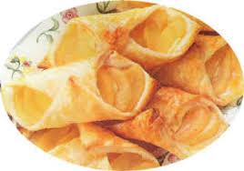 les petits danois feuilletés aux poires et au fromage blanc desserts