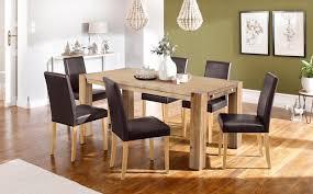 home affaire essgruppe silje set 7 tlg bestehend aus 6 lucca stühlen und dem maggie esstisch kaufen otto