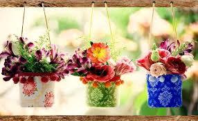 DIY Elegant Hanging Vases From Plastic Bottles