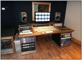 Music Studio Desk Desk Amazing Decoration Home Studio Furniture