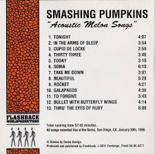 Rocket Smashing Pumpkins Acoustic by Ognetty U0027s Art Acoustic Melon Songs