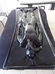 Mike on vac bed Full Rubber Cover Men