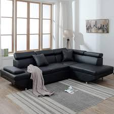 100 Modern Sofa For Living Room Corner Sectional Couch Futon Contemporary Upholstered Home Furniture Wederz
