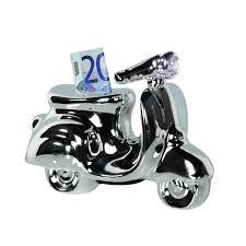 casablanca spardose roller moped mofa deko vespa skulptur