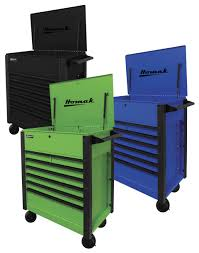 "Homak Manufacturing, LLC 35"" 7 Drawer Service Cart In Tool Storage"