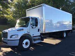 2019 Freightliner Business Class M2, 26,000 GVWR, 26' Box+lift-gate ...