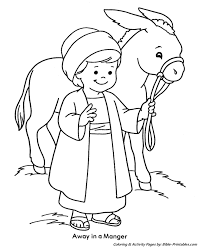 Kids Christmas Coloring Pages 16