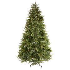 Pre Lit Multicolor Christmas Tree Canada by 7 5 U0027 Multi Pre Lit Englewood Artificial Christmas Tree Christmas