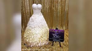 It s a Dress It s a Cake It s a Wedding Dress Cake ABC News